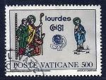 Sellos de Europa - Vaticano -  Lurdes