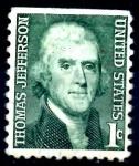 Sellos de America - Estados Unidos -  USA_SCOTT 1278.04 THOMAS JEFFERSON. $0,2