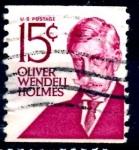 Sellos de America - Estados Unidos -  USA_SCOTT 1305E OLIVER WENDELL HOLMES. $0,2