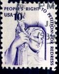 Stamps United States -  USA_SCOTT 1592 IMAGEN DE LA JUSTICIA. $0,2