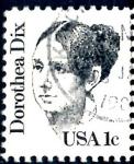 Sellos de America - Estados Unidos -  USA_SCOTT 1844.04 DOROTHEA DIX