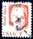 Stamps United States -  USA_SCOTT 1848.01 PEARL BUCK. $0,2