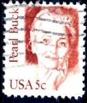 Sellos de America - Estados Unidos -  USA_SCOTT 1848.02 PEARL BUCK. $0,2