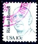 Sellos de America - Estados Unidos -  USA_SCOTT 1853 RICHARD RUSSELL. $0,2