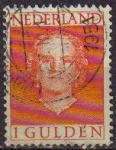 Stamps Netherlands -  HOLANDA Netherlands 1949 Scott 319 Sello Reina Juliana Usado