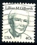 Stamps United States -  USA_SCOTT 1868.03 LILLIAN M. GILBRETH. $0,2