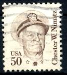 Sellos de America - Estados Unidos -  USA_SCOTT 1869.05 CHESTER W. NIMITZ. $0,2