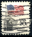 Stamps United States -  USA_SCOTT 1894.01 BANDERA. $0,2