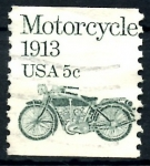 Sellos de America - Estados Unidos -  USA_SCOTT 1899.02 MOTOCICLETA. $0,2