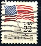 Sellos de America - Estados Unidos -  USA_SCOTT 2114.04 BANDERA SOBRE EL CAPITOLIO. $0,2
