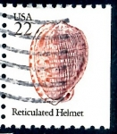 Stamps United States -  USA_SCOTT 2118.04 RETICULATED HELMER. $0,2