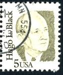 Sellos de America - Estados Unidos -  USA_SCOTT 2172.01 HUGO L. BLACK. $0,2