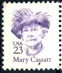 Stamps United States -  USA_SCOTT 2181.02 MARY CASSTT. $0,2