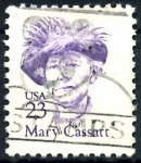 Stamps : America : United_States :  USA_SCOTT 2181.04 MARY CASSTT. $0,2