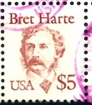 Sellos de America - Estados Unidos -  USA_SCOTT 2196.05 BRET HARTE. $1,0