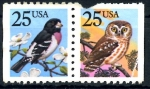 Stamps : America : United_States :  USA_SCOTT 2284_5 CASCANUECES_BUHO. $0,4