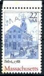 Sellos del Mundo : America : Estados_Unidos :  USA_SCOTT 2341 MASSACHUSETTS. $0,2