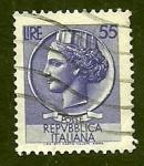 Sellos de Europa - Italia -  Lucia de Siracusa