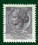 Stamps Italy -  Lucia de Siracusa