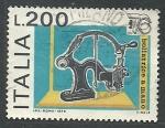 Sellos de Europa - Italia -  Ballatris a mano