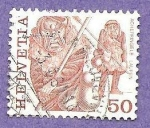 Stamps : Europe : Switzerland :  RESERVADO