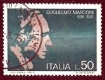 Stamps Italy -  Guglielmo Marconi