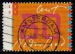 Sellos del Mundo : Europa : Holanda : HOLANDA Netherlands 1999 Scott 1031 Sello Centenario Sellos para cartas Usado Michel 1731