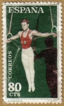 Stamps Spain -  GIMNASIA