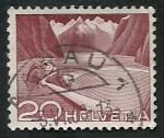 Stamps Switzerland -  Paisage