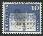 Sellos de Europa - Suiza -  Castillo de NAFELS