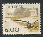Stamps Portugal -  Arado y Tractor