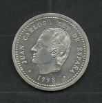 monedas de Europa - España -  Juan Carlos I y Felipe II El Escorial