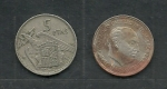 monedas de Europa - España -  Franco y Escudo Nacional