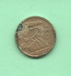 monedas de Europa - España -    N 5  y Feligrana con 1990