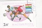 Stamps Hungary -  MUNDIAL FUTBOL ARGENTINA ,78
