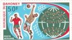 Sellos de Africa - Benin -  MUNDIAL FUTBOL MEXICO'70