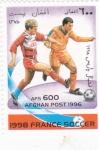 Sellos de Asia - Afganistán -  MUNDIAL DE FUTBOL FRANCIA'98