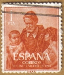 Stamps Spain -  San Vicente de Paul