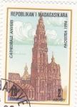 Stamps Madagascar -  CATEDRAL DE AMBERES