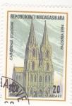 Stamps Madagascar -  CATEDRAL DE COLONIA