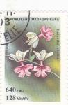 Stamps Madagascar -  F L O R E S