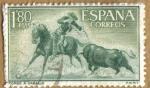 Sellos del Mundo : Europa : España : TAUROMAQUIA - Toreo a caballo