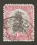 Stamps South Africa -  INTERCAMBIO