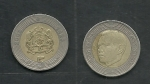 monedas del Mundo : Africa : Marruecos :   Mohamed  VI y escudo nacional