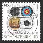 Sellos de Europa - Alemania -  2700 - 150 Anivº de la Federación alemana de Tiro