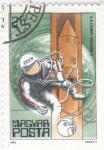 Sellos de Europa - Hungría -  AERONAUTICA-A.A.LEONOV