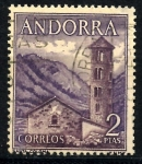 Stamps : Europe : Andorra :  ANDORRA_SCOTT 53 SANTA COLOMA $0,5