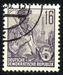Stamps Germany -  ALEMANIA DDR_SCOTT 194 $,2