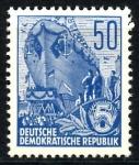 Sellos de Europa - Alemania -  ALEMANIA DDR_SCOTT 481 BOTADURA DE BARCO. $0,2
