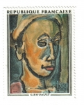 Stamps France -  Rouault